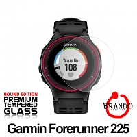 Brando Workshop Premium Tempered Glass Protector (Rounded Edition) (Garmin Forerunner 225)