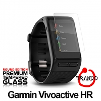 Brando Workshop Premium Tempered Glass Protector (Rounded Edition) (Garmin Vivoactive HR)
