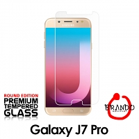Brando Workshop Premium Tempered Glass Protector (Rounded Edition) (Samsung Galaxy J7 Pro)