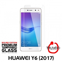Brando Workshop Premium Tempered Glass Protector (Rounded Edition) (Huawei Y6 (2017))