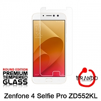 Brando Workshop Premium Tempered Glass Protector (Rounded Edition) (Asus Zenfone 4 Selfie Pro ZD552KL)