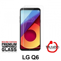Brando Workshop Premium Tempered Glass Protector (Rounded Edition) (LG Q6)