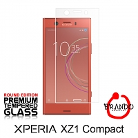 Brando Workshop Premium Tempered Glass Protector (Rounded Edition) (Sony Xperia XZ1 Compact)