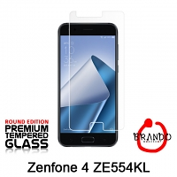 Brando Workshop Premium Tempered Glass Protector (Rounded Edition) (Asus Zenfone 4 ZE554KL)