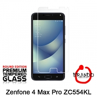 Brando Workshop Premium Tempered Glass Protector (Rounded Edition) (Asus Zenfone 4 Max Pro ZC554KL)