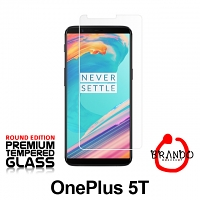 Brando Workshop Premium Tempered Glass Protector (Rounded Edition) (OnePlus 5T)
