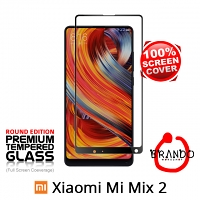 Brando Workshop Full Screen Coverage Glass Protector (Xiaomi Mi Mix 2) - Black