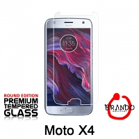 Brando Workshop Premium Tempered Glass Protector (Rounded Edition) (Motorola Moto X4)