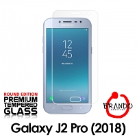 Brando Workshop Premium Tempered Glass Protector (Rounded Edition) (Samsung Galaxy J2 Pro (2018))