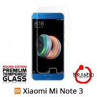 Brando Workshop Premium Tempered Glass Protector (Rounded Edition) (Xiaomi Mi Note 3)