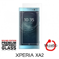Brando Workshop Premium Tempered Glass Protector (Rounded Edition) (Sony Xperia XA2)