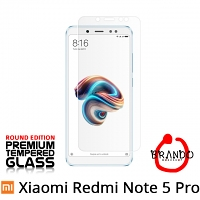 Brando Workshop Premium Tempered Glass Protector (Rounded Edition) (Xiaomi Redmi Note 5 Pro)