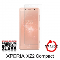 Brando Workshop Premium Tempered Glass Protector (Rounded Edition) (Sony Xperia XZ2 Compact)