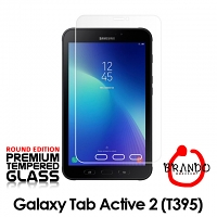Brando Workshop Premium Tempered Glass Protector (Rounded Edition) (Samsung Galaxy Tab Active 2 (T395))