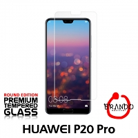 Brando Workshop Premium Tempered Glass Protector (Rounded Edition) (Huawei P20 Pro)