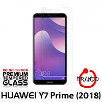 Brando Workshop Premium Tempered Glass Protector (Rounded Edition) (Huawei Y7 Prime (2018))