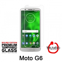 Brando Workshop Premium Tempered Glass Protector (Rounded Edition) (Motorola Moto G6)