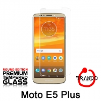 Brando Workshop Premium Tempered Glass Protector (Rounded Edition) (Motorola Moto E5 Plus)