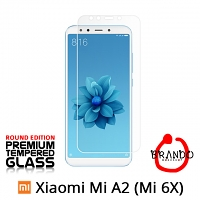 Brando Workshop Premium Tempered Glass Protector (Rounded Edition) (Xiaomi Mi A2 (Mi 6X))