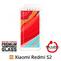 Brando Workshop Premium Tempered Glass Protector (Rounded Edition) (Xiaomi Redmi S2)