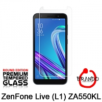 Brando Workshop Premium Tempered Glass Protector (Rounded Edition) (Asus ZenFone Live (L1) ZA550KL)