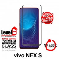 Brando Workshop Full Screen Coverage Glass Protector (vivo NEX S) - Black