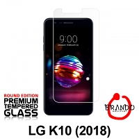 Brando Workshop Premium Tempered Glass Protector (Rounded Edition) (LG K10 (2018))