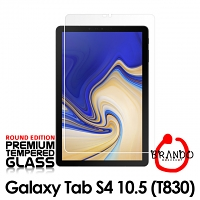 Brando Workshop Premium Tempered Glass Protector (Rounded Edition) (Samsung Galaxy Tab S4 10.5 (2018))