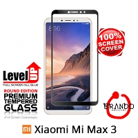 Brando Workshop Full Screen Coverage Glass Protector (Xiaomi Mi Max 3) - Black