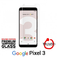 Brando Workshop Premium Tempered Glass Protector (Rounded Edition) (Google Pixel 3)