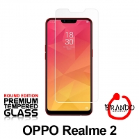 Brando Workshop Premium Tempered Glass Protector (Rounded Edition) (OPPO Realme 2)