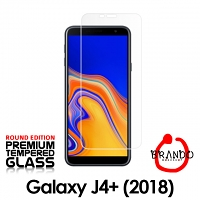 Brando Workshop Premium Tempered Glass Protector (Rounded Edition) (Samsung Galaxy J4+ (2018))
