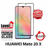 Brando Workshop Full Screen Coverage Glass Protector (Huawei Mate 20 X) - Black