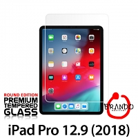 Brando Workshop Premium Tempered Glass Protector (Rounded Edition) (iPad Pro 12.9 (2018))