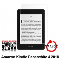 Brando Workshop Premium Tempered Glass Protector (Rounded Edition) (Amazon Kindle Paperwhite 4 (2018))