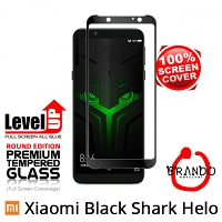Brando Workshop Full Screen Coverage Glass Protector (Xiaomi Black Shark Helo) - Black
