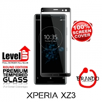 Brando Workshop Full Screen Coverage Glass Protector (Sony Xperia XZ3) - Black