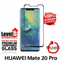 Brando Workshop Full Screen Coverage Glass Protector (Huawei Mate 20 Pro) - Black