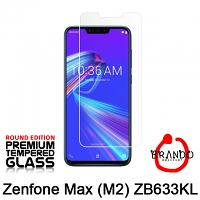 Brando Workshop Premium Tempered Glass Protector (Rounded Edition) (Asus Zenfone Max (M2) ZB633KL)