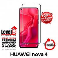 Brando Workshop Full Screen Coverage Glass Protector (Huawei nova 4) - Black