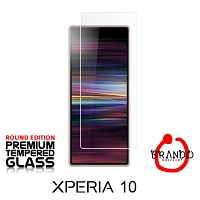 Brando Workshop Premium Tempered Glass Protector (Rounded Edition) (Sony Xperia 10)