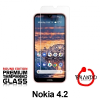 Brando Workshop Premium Tempered Glass Protector (Rounded Edition) (Nokia 4.2)