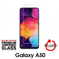Brando Workshop Premium Tempered Glass Protector (Rounded Edition) (Samsung Galaxy A50)