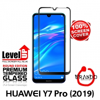 Brando Workshop Full Screen Coverage Glass Protector (Huawei Y7 Pro (2019)) - Black