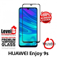 Brando Workshop Full Screen Coverage Glass Protector (Huawei Enjoy 9s) - Black