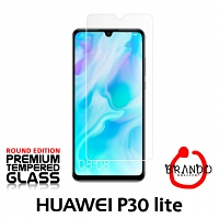 Brando Workshop Premium Tempered Glass Protector (Rounded Edition) (Huawei P30 lite)