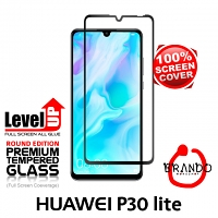 Brando Workshop Full Screen Coverage Glass Protector (Huawei P30 lite) - Black