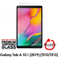 Brando Workshop Premium Tempered Glass Protector (Rounded Edition) (Samsung Galaxy Tab A 10.1 (2019))