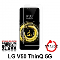 Brando Workshop Premium Tempered Glass Protector (Rounded Edition) (LG V50 ThinQ 5G)