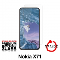 Brando Workshop Premium Tempered Glass Protector (Rounded Edition) (Nokia X71)